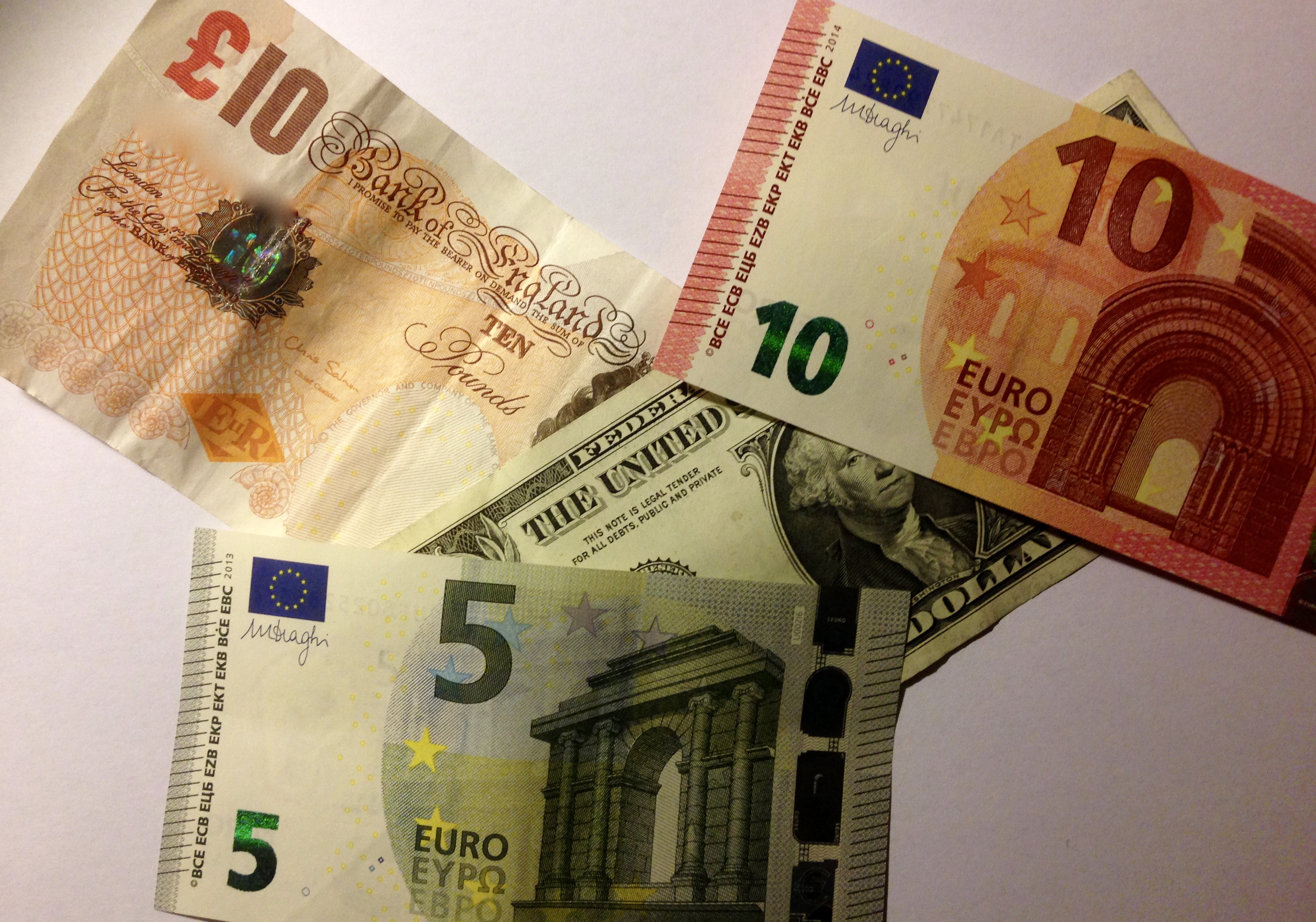 We sell in multiple currencies