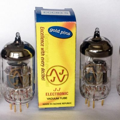 ECC83S Gold Pins Four Pack JJ Electronic