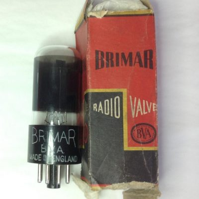 Brimar 6SN7GT Made in England Image